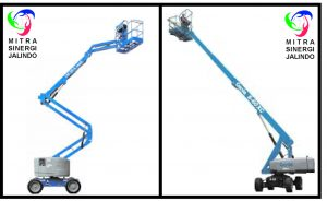 MSJ Boom Lift - Articulate dan Telescopic